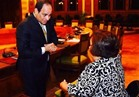 هبة هجرس: شكرا سيادة الرئيس كعهدنا بك تضعنا على قائمة أولوياتك