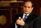 """السيسي لشبكة """"سي إن بي سي"""" الأمريكية: الأوضاع الاقتصادية في مصر تتحسن بدرجة كبيرة"""