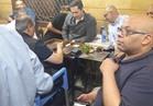 """علاء مبارك يلعب """"الطاولة"""" في إمبابة"""