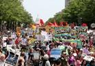 آلاف الأمريكيين يشاركون في مسيرات مناهضة لترامب بسبب التغير المناخي