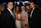 صور| منى عبد الغني تحتفل بزفاف ابنتها «ريم»