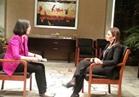 سحر نصر تجرى مقابلة تلفزيونية مع قناة »«T» الصينية خلال زيارتها لبكين