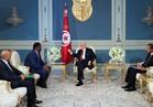 لجنة الوساطة بالبرلمان العربي تلتقي  الرئيس التونسي