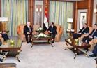 الرئيس السيسي يلتقي نظيره العراقي بالرياض