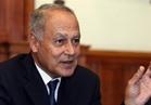 أبو الغيط: سوريا المستقبل ينبغي أن تكون صاحبة سيادة على أراضيها