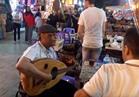 فيديو | سهرات رمضانية تضيء شوارع الحسين وخان الخليلي في أول ليالي رمضان