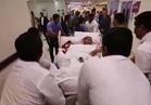بالفيديو .. لحظة وصول فتاة النصف طن إلى مستشفى برجيل في أبو ظبي