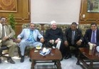 «أبو هاشم» يهنئ «المحرصاوي» على رئاسة جامعة الأزهر