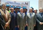 """""""العصار"""" و """"نصار"""" يفتتحان محطة طاقة شمسية بجامعة القاهرة"""