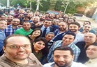 ياسر جلال يحتفل بانتهاء تصوير «ظل الرئيس»