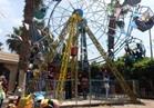 الحدائق والمتنزهات بالمنوفيه تمتلئ بالأسر والأطفال احتفالا بعيد الفطر