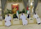 رئيس الإمارات يستقبل المهنئين بعيد الفطر