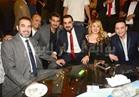 صور| مصطفى قمر ودينا يحيان زفاف نجل صبري عبدالمنعم بحضور النجوم