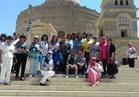 """علماء """"مصر تستطيع بالتاء المربوطة"""" في جولة سياحية بمجمع الأديان"""