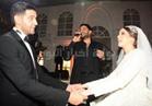 صور| حماقي والشاعري وهشام عباس في زفاف «محمد ويارا»