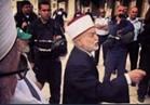 علي جمعة يهنيء مفتي القدس محمد حسين بعد تحريره