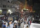 الألاف من أهالى البحيرة يشيعون جثامين شهداء حادث العريش الأرهابي