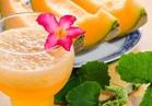 «عصير الشمام بالحليب المكثف» للانتعاش أيام الحر