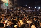 فيديو| الأمن الإسرائيلي يطلق قنابل الصوت والرصاص المطاطي على المعتصمين بباب الأسباط