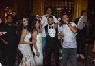 صور| أوكا وأورتيجا ومينا عطا يغنيون بزفاف شقيق الإعلامية سالي عبدالسلام