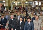 تشييع جثامين 3 جنود شهداء في جنازة عسكرية بالدقهلية