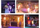 صور| ألعاب نارية ومؤثرات بصرية بحفل «TAO POOL»