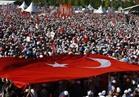 بالصور.. مئات الآلاف يتظاهرون بإسطنبول تنديدا بسياسات أردوغان