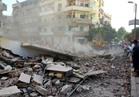 انهيار منزل بحي شرق سوهاج وإخلاء العقارات المجاورة من السكان