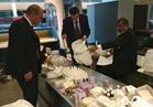 ضبط أدوات تجميل وادوية بيطرية من روسيا مع راكب بالمطار