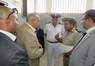 """مساعد الوزير لقطاع مصلحة السجون يواصل الزيارات الميدانية لمنطقة سجون """"قطا"""""""