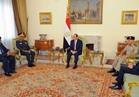 وزير الدفاع السوداني يغادر القاهرة بعد لقاء الرئيس السيسي