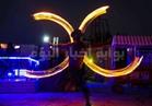 صور  فيرناتدا والشو الناري في حفل «TAO» بمارينا