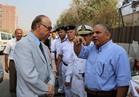 جولة ميدانية لمحافظ القاهرة بعين شمس والنزهة لرفع الإشغالات