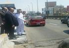 مدير أمن القاهرة يتفقد الخدمات المرورية أعلى كوبري أكتوبر وموقف عبد المنعم رياض