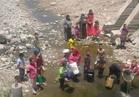 أهالي قرية كوم القدح بالبحيرة يطالبون بكوب ماء آمن
