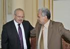 جابر نصار يزور رئيس جامعة القاهرة الجديد لتهنئته بالمنصب