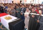 جنازة عسكرية لشهيد الشرطة النقيب عصام يونس بالمنوفية