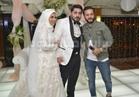 صور| إيساف وأحمد تهامي يحتفلان بزفاف نجل رجل أعمال