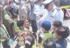 أطفال مستشفى 57357 في زيارة للإدارة العامة للمرور