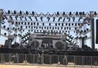 صور  استعدادات حفل تامر حسني في «موسي كوست»