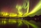 أضواء الشفق القطبي تسطع بسماء النرويج