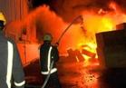إخماد حريق بـ4 مصانع بالخانكة دون خسائر في الأرواح