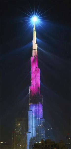 برج خليفة 2018 - صورة من ا ف ب