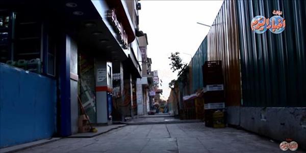 المحلات والورش فى شارع السودان