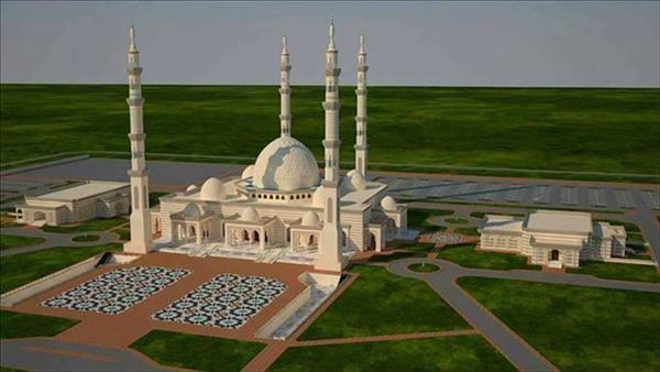 مسجد الفتاح العليم بالعاصمة الإدارية الجديدة - صورة موضوعية