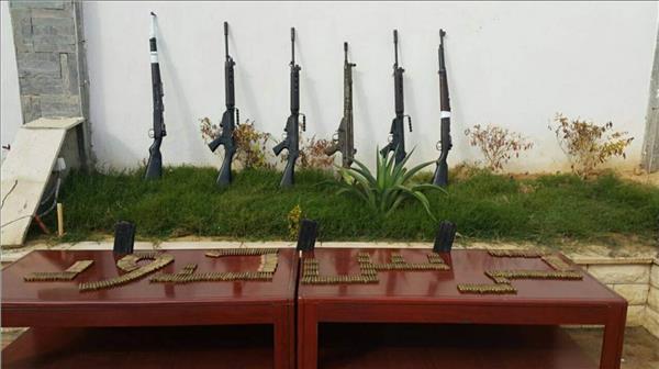 حرس الحدود يضبط 39 قضية تشمل تهريب أسلحة وذخائر ومخدرات