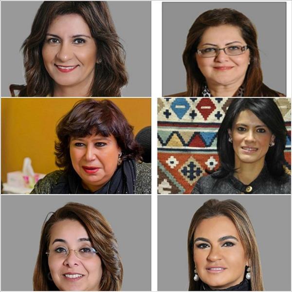 6 وزيرات في حكومة «إسماعيل» الجديدة