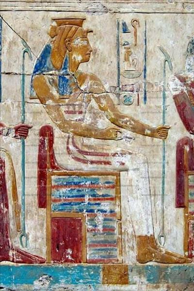 كرسي الولادة الفرعوني