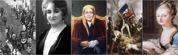 في ذكرى 25 يناير| 3 سيدات قدن ثورات بلادهن.. وواحدة أضاعت مُلك زوجها