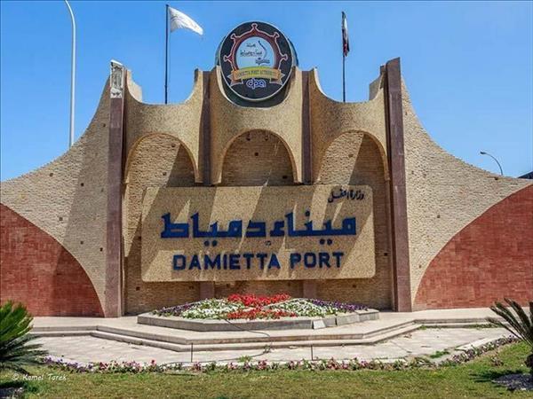 ميناء دمياط - صورة ارشيفية